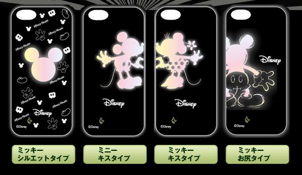 【iPhone5 対応】ディズニーライトケース